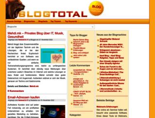 netzwelt.blogtotal.de screenshot