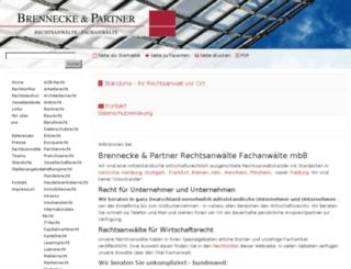 neu.brennecke-partner.de screenshot
