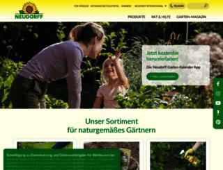 neudorff.de screenshot