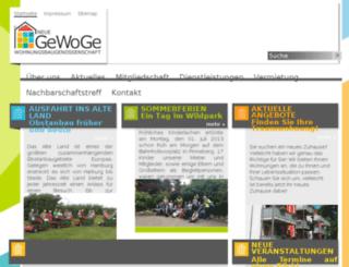 neue-gewoge.exinitstage.de screenshot