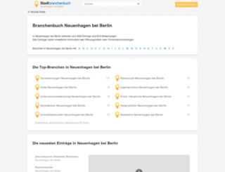 neuenhagen-bei-berlin.stadtbranchenbuch.com screenshot