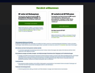 neuepresse.de screenshot