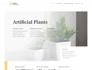 neuhaus-artificial-plants.com screenshot