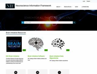 neuinfo.org screenshot