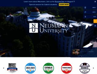neumann.edu screenshot