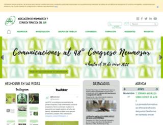 neumosur.net screenshot