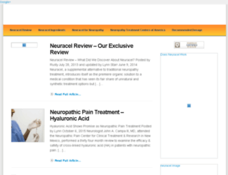 neuracelreview.com screenshot