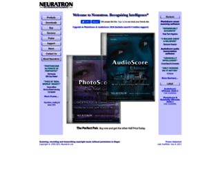 neuratron.com screenshot