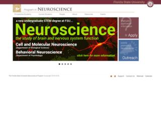 neuro.fsu.edu screenshot