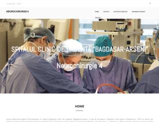 neurochirurgie4.ro screenshot