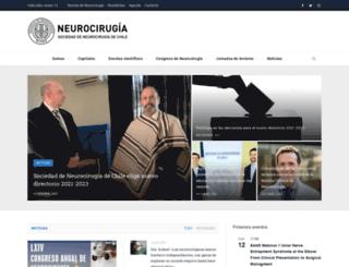 neurocirugia.cl screenshot