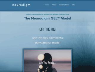 neurodigm.com screenshot