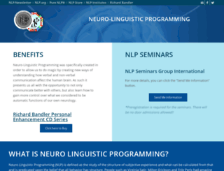 neurolinguisticprogramming.com screenshot