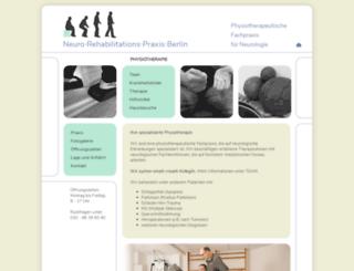neurologische-rehabilitation.berlin screenshot