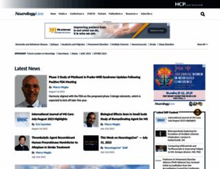 neurologytimes.com screenshot