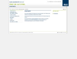 neurop.ruhr-uni-bochum.de screenshot