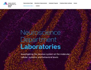 neuroscience.mssm.edu screenshot