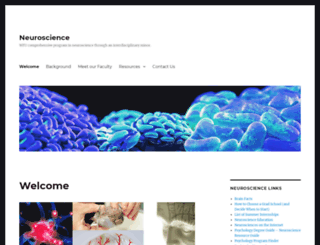 neuroscience.wfu.edu screenshot