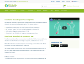 neurosymptoms.org screenshot