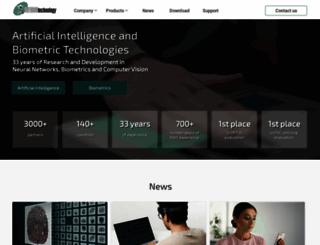 neurotechnology.com screenshot