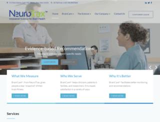 neurotrax.com screenshot