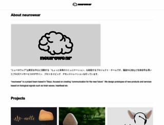 neurowear.com screenshot