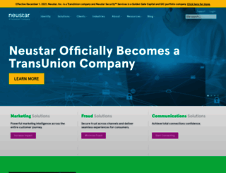 neustar.biz screenshot