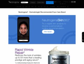 neutrogena.ca screenshot