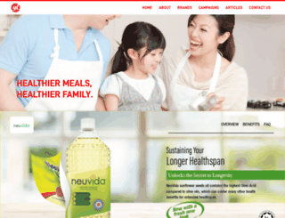 neuvida.com.my screenshot