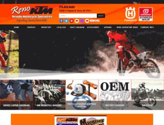 nevadaktm.com screenshot