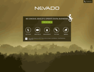 nevado.co.uk screenshot