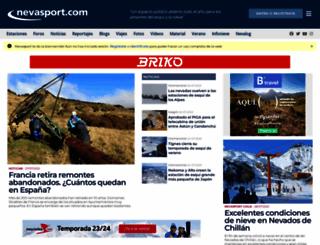 nevasport.com screenshot