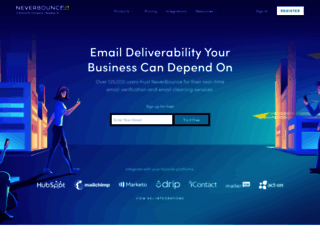 neverbounce.com screenshot