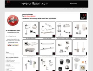 neverdrillagain.co.uk screenshot