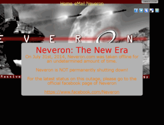 neveron.org screenshot