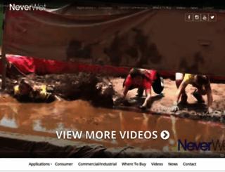 neverwet.com screenshot