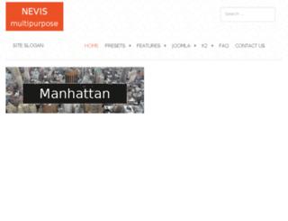 nevis.tkthemes.com screenshot