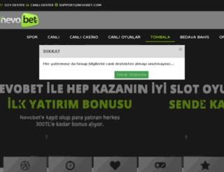 nevobet.com screenshot
