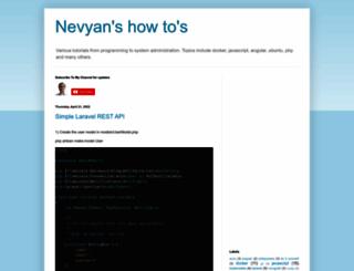 nevyan.blogspot.com screenshot