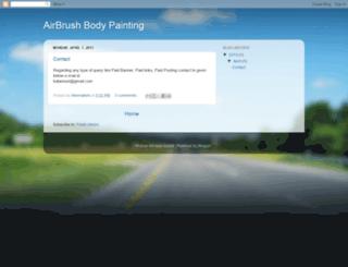 new-airbrush.blogspot.com screenshot