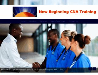 new-beginning-cna-training.com screenshot