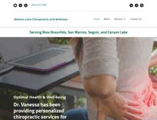 new-braunfels-chiropractor.com screenshot