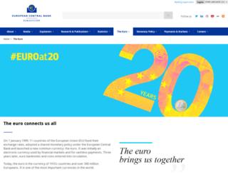 new-euro-banknotes.eu screenshot