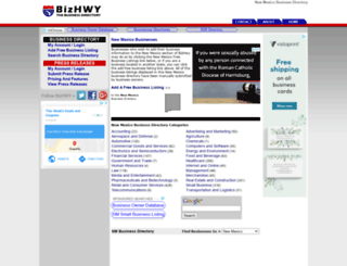 new-mexico.bizhwy.com screenshot