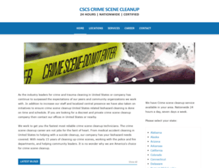new-munster-wisconsin.crimescenecleanupservices.com screenshot