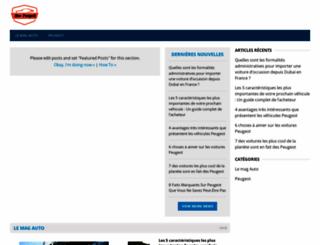 new-peugeot.com screenshot