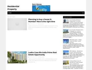 new-residential-projects.blogspot.in screenshot