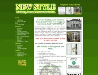 new-stylewindows.co.uk screenshot