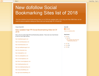 new-updated-socialbookmarking-sites.blogspot.com screenshot