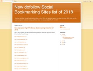 new-updated-socialbookmarking-sites.blogspot.in screenshot